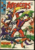Stan Lee Signed The Avengers #55 Comic Book PSA/DNA #Z05348
