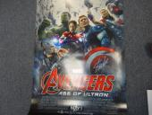 Stan Lee Signed The Avengers Age Of Ultron Movie Poster Auto PSA/DNA AC85703