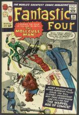 Stan Lee Signed The Fantastic Four #20 Comic Book Molecule Man PSA/DNA #6A20949