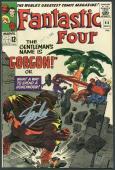 Stan Lee Signed The Fantastic Four #44 Comic Book Gorgon PSA #6A20922