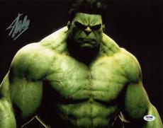 Stan Lee Signed The Hulk 11X14 Photo Marvel Comics PSA/DNA 4