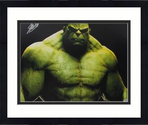 Stan Lee Signed The Hulk 16X20 Photo Marvel Comics PSA/DNA 2