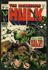 Stan Lee Signed The Incredible Hulk #120 Comic Book The Inhumans PSA/DNA #W18865