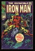 Stan Lee Signed The Invincible Iron Man #1 Comic Book PSA ITP #6A20969