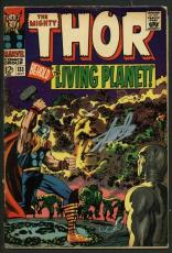 Stan Lee Signed The Mighty Thor #133 Comic Bookthe Livign Planet PSA/DNA #W18696