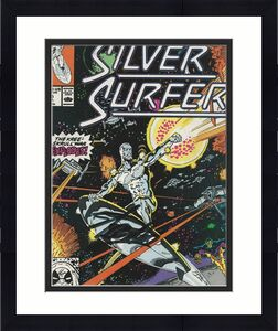 Stan Lee Signed The Silver Surfer #25 (1989) - PSA/DNA # X08192