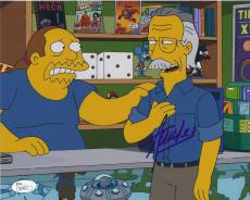 Stan Lee Signed 'the Simpsons' 8x10 Photo Autograph Jsa Coa