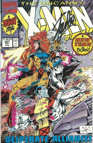 Stan Lee Signed The Uncanny X-Men Marvel Comic Book PSA/DNA COA Issue #281 1991