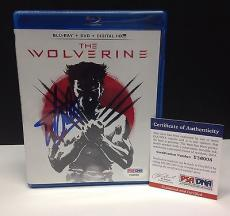 Stan Lee Signed THE WOLVERINE Blu-Ray Movie Cover - PSA/DNA # Y36008