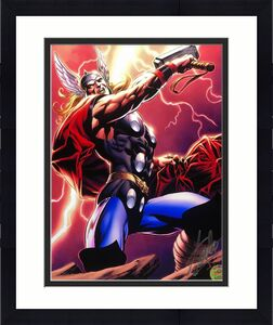 Stan Lee Signed Thor 11x14 Photo *Marvel 'Excelsior Approved' Hologram