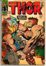 Stan Lee Signed THOR #126 1st Journey Into Mystery Comic W/ Stan Lee Hologram