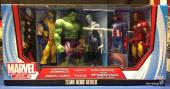 Stan Lee signed Titan Hero Series Avengers Six Figures PSA/DNA  #X72440