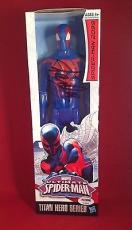 Stan Lee signed Titan Hero Series Avengers Spider-Man Figure PSADNA  #X08563