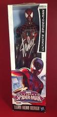 Stan Lee signed Titan Hero Series Avengers Spider-Man Figure PSADNA  #X08574