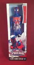Stan Lee signed Titan Hero Series Avengers Spider-Man Figure PSADNA  #X72572