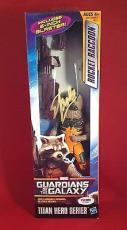 Stan Lee signed Titan Hero Series Guardians Galaxy Rocket Racon  PSADNA  #X72580