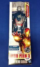 Stan Lee signed Titan Hero Series Iron Patriot Figure PSADNA  #W14111