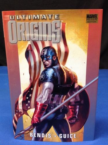 Stan Lee Signed Ultimate Origins Hardcover Book - PSA/DNA # X08235