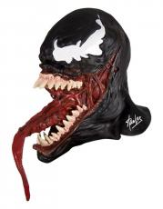 Stan Lee Signed Venom Mask