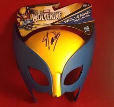 Stan Lee signed Wolverine Hero Mask PSADNA  # X72424