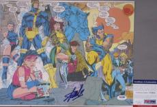 Stan Lee Signed  WOLVERINE X-Men Comic 11x14 Photo #6 PSA/DNA POW Spider-Man