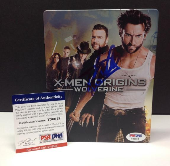 Stan Lee Signed X-MEN ORIGINS WOLVERINE Blu-Ray Movie Cover - PSA/DNA # Y36018
