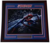 Stan Lee Spider Man creator signed 16x20 photo framed autograph lee hologram coa