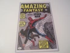 Stan Lee Spider-man Hand Signed Autographed 11x14 Photo Jsa Coa