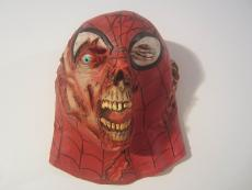 Stan Lee Spider-man Hand Signed Autographed Zombie Latex Mask Jsa Coa Rare