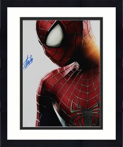 Stan Lee Spider-Man Signed 16x20 Photo Autographed BAS #Z32562
