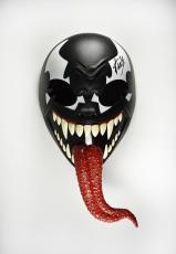 Stan Lee Spider-Man Venom Mask Autographed Signed Certified Authentic PSA/DNA