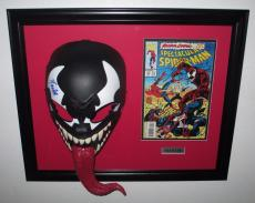 Stan Lee Spider Man - Venom Signed Mask with Comic Book Certified Psa/Dna Coa!