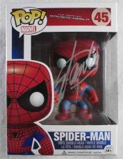 Stan Lee Spiderman Autographed Signed Funko Pop Doll Certified Authentic PSA/DNA