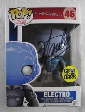 Stan Lee Spiderman Electro Autographed Signed Funko Pop Doll Authentic PSA/DNA