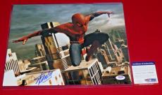 STAN LEE spiderman marvel icon hall of fame  signed PSA/DNA 11x14 photo proof 2