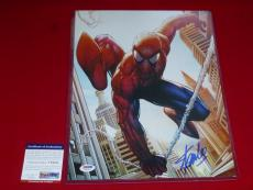 STAN LEE spiderman marvel icon hall of fame signed PSA/DNA 11x14 photo proof