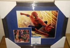 Stan Lee Spiderman Marvel Signed Autograph 13x16 Matted Framed Bas Beckett Coa C