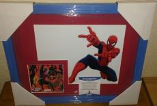 Stan Lee Spiderman Marvel Signed Autograph 13x16 Matted Framed Bas Beckett Coa H