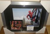 Stan Lee Spiderman Marvel Signed Autograph 13x16 Matted Framed Bas Beckett Coa I
