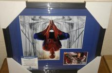 Stan Lee Spiderman Marvel Signed Autograph 13x16 Matted Framed Bas Beckett Coa J