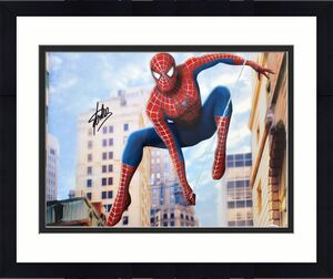 Stan Lee Spiderman Signed 16x20 Photo Autographed PSA/DNA #X05500