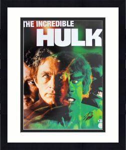 Stan Lee The Hulk Signed 16x20 Photo Autographed BAS #B78571