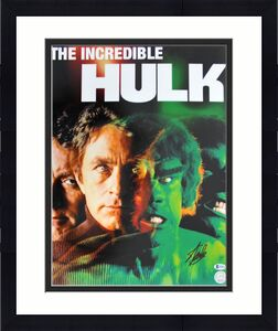 Stan Lee The Hulk Signed 16x20 Photo Autographed BAS #B78572
