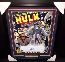 STAN LEE THE INCREDIBLE HULK AUTOGRAPHED 16X20 Photo Framed JSA COA
