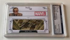 Stan Lee Timeless Cuts Spiderman Avengers Marvel Signed Custom CARD 1/1 PSA/DNA