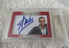 Stan Lee Todd McFarlane 2016 Leaf Masterpiece cut signature auto 1/1 JSA Marvel