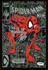 Stan Lee & Todd McFarlane Signed Spider-Man Torment #1 Comic Book PSA #6A20888