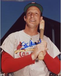 "Stan Musial St. Louis Cardinals Autographed 8"" x 10"" Pose Photograph"