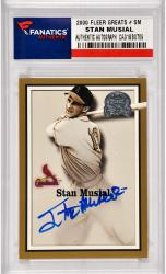 Stan Musial St. Louis Cardinals Autographed 2000 Fleer Greats of the Game #SM Card