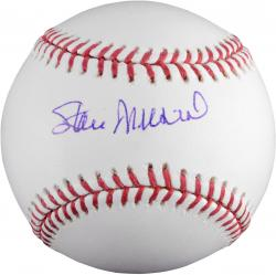 Stan Musial St. Louis Cardinals Autographed Baseball (PSA/DNA)